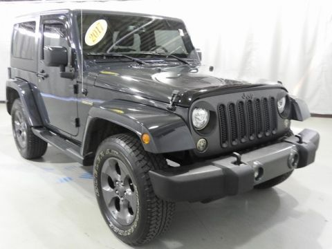 Pre-Owned 2017 Jeep Wrangler Freedom Edition